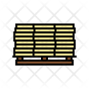 Wooden Planks Pallet Icon