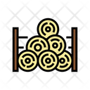 Wooden Timber Storage Icon