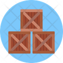 Wooden Crate Pack Icon