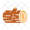 Wooden Log Wood Icon