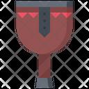 Wooden Leg Prosthesis Icon