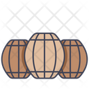 Wooden Barrel Barrel Beer Icon