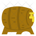 Wooden Barrel Icon