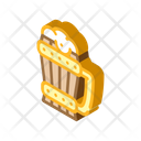 Beer Cup Isometric Icon