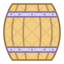 Wooden beer keg Icon