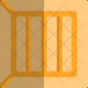 Wooden Box Cargo Box Icon