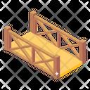 Bridge Wooden Bridge Garden Bridge Icon