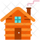 Wooden cabin Icon