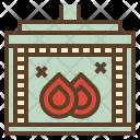 Wood Burning Stove Icon