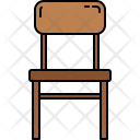 Wooden Chair Furniture Icon