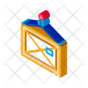 Wooden Container Box Icon