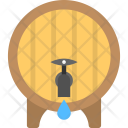 Water Tank Wooden Icon