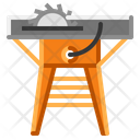 Wooden Cutting Machine Icon