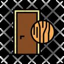 Wooden Door Color Icon