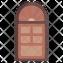 Wooden Door Home Door House Door Icon