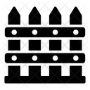 Fence Barrier Picket Fence Icon