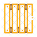 Wooden Fence Production Icon