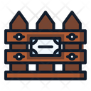 Fence Spring Nature Icon