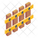 Picket Fence Wooden Fence Garden Fence Icon