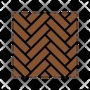 Wooden Flooring Icon