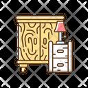 Furniture Wooden Drawer Icon