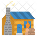 Cabin Wood House Icon