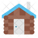 Wooden House House Home Icon