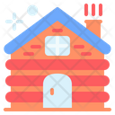 Wooden House Hut Wooden Icon