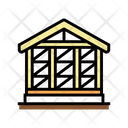 Wooden Frame Building Icon