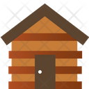 Wooden House Tree House House Icon