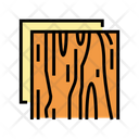 Wooden Insulation Layer Icon