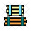 Wooden Plank Warehouse Icon