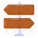 Finger Post Signpost Guidepost Icon