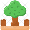 Woodland Cutting Icon