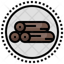 Wood Log Carpentry Icon