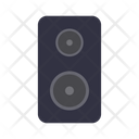 Woofer Speaker Music Icon