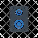 Woofer Speaker Media Icon