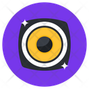 Woofer Music Player Sound System Icon