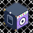 Audio Speaker Woofer Sound System Icon