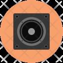 Woofer Sound Speaker Icon