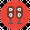 Woofers Speakers Loudspeaker Icon