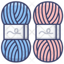 Knitting Yarn Ball Icon