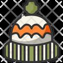 Wool Hat Warm Icon