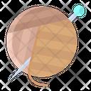 Awoolen With Needles Ball Needle Icon