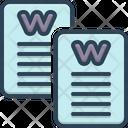 Word Script Words Icon