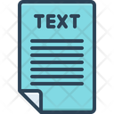 Word Letter Text Icon