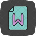 Word Count Checker Icon