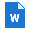 Word File Extension Icon