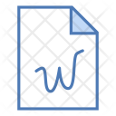 Word file Icon