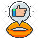 Word Mouth Success Icon